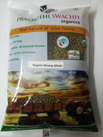 Picture of Organic MOONG WHOLE 1kg