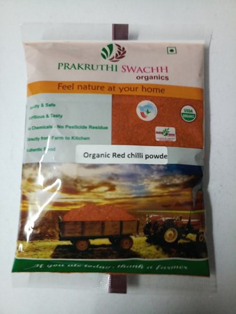 Picture of Organic RED CHILLI POWDER 500gm
