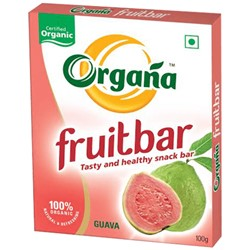 Picture of Organa Guava Fruit Bar - Box