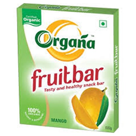 Picture of Organa Mango Fruit Bar - Box