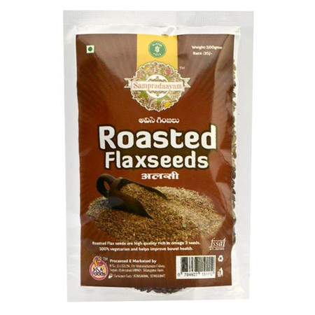 Picture of Roasted Flax Seeds (Sampradaayam) - 100gm