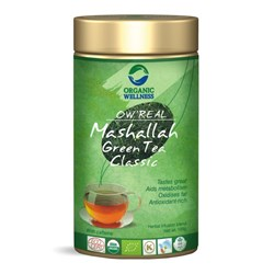 Picture of Organic Masala GreenTea online | OW' Real Mashalla Green Tea Classic Tin - 100gm