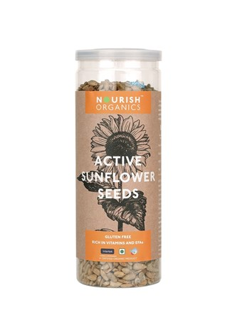 Picture of Organic Active Sunflower Seeds* 150gms