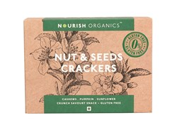 Picture of Organic Nut & Seeds Crackers 120gms