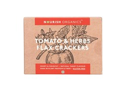Picture of Organic Tomato & Herbs Flax Crackers 90gms