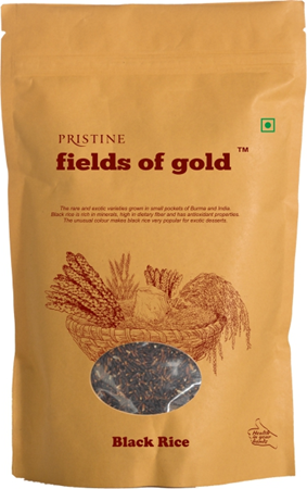 Picture of Fields of Gold - Black Rice , 1kg