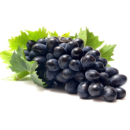 Picture of Black Grapes - 500 gm