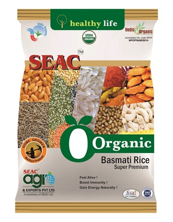 Picture of Organic Basmati Rice Super 1kg