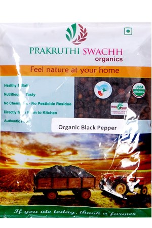 Picture of Organic Black Pepper 50gms