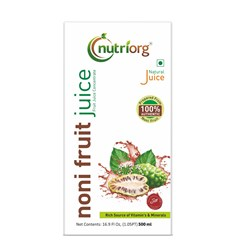 Picture of Organic Noni juice 500ml -Nutriorg
