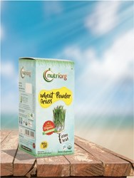 Picture of Organic Wheat Grass Powder Certified Organic 100g - Nutriorg