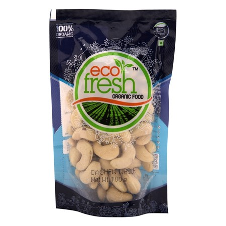 Picture of ORGANIC CASHEW WHOLE 100 GM